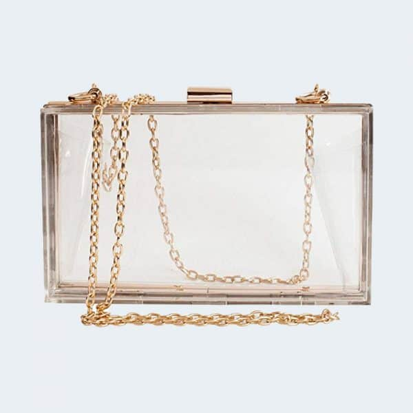Chain Clutch Bag